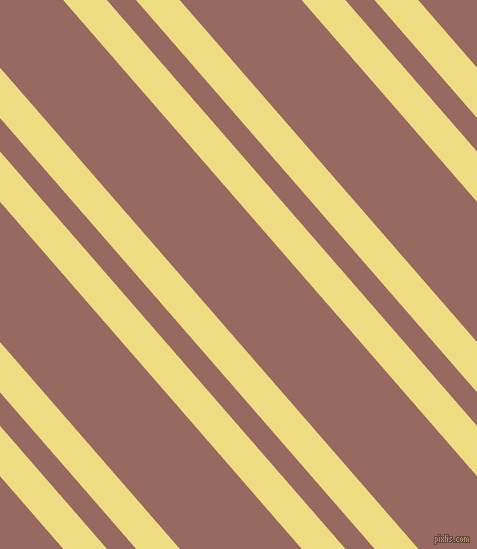 131 degree angle dual stripes line, 33 pixel line width, 22 and 92 pixel line spacing, Flax and Dark Chestnut dual two line striped seamless tileable