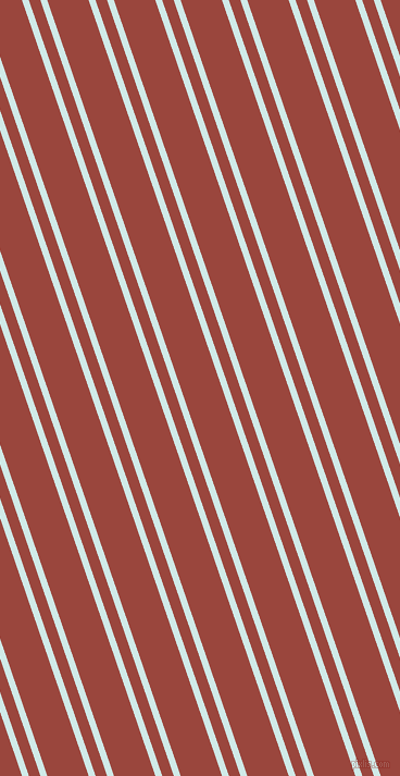 109 degree angles dual stripes line, 6 pixel line width, 10 and 36 pixels line spacing, Foam and Cognac dual two line striped seamless tileable