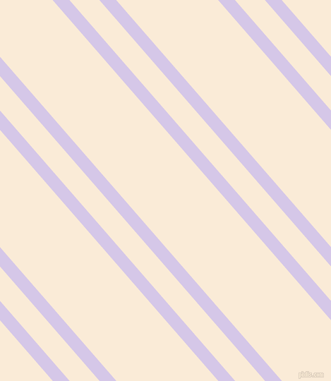 131 degree angle dual stripes line, 18 pixel line width, 32 and 109 pixel line spacing, Fog and Antique White dual two line striped seamless tileable