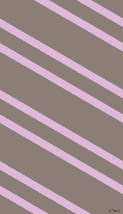 150 degree angles dual stripes line, 26 pixel line width, 48 and 115 pixels line spacing, French Lilac and Hurricane dual two line striped seamless tileable