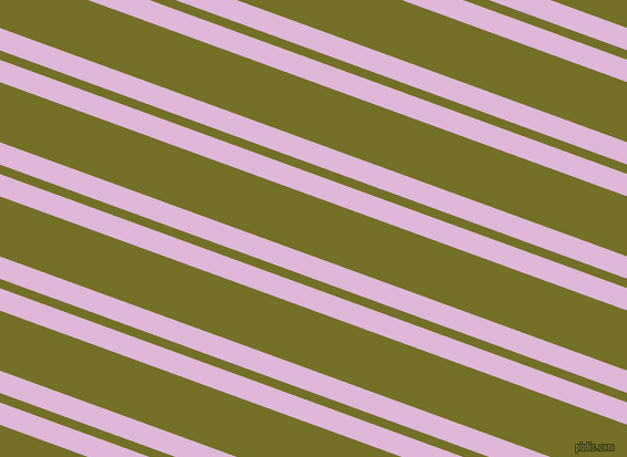 160 degree angles dual stripes lines, 19 pixel lines width, 8 and 51 pixels line spacing, French Lilac and Olivetone dual two line striped seamless tileable