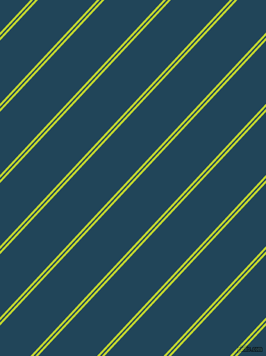 47 degree angle dual stripe line, 3 pixel line width, 2 and 62 pixel line spacing, Fuego and Astronaut Blue dual two line striped seamless tileable