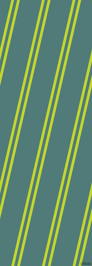 77 degree angles dual stripe line, 9 pixel line width, 10 and 72 pixels line spacing, Fuego and Breaker Bay dual two line striped seamless tileable