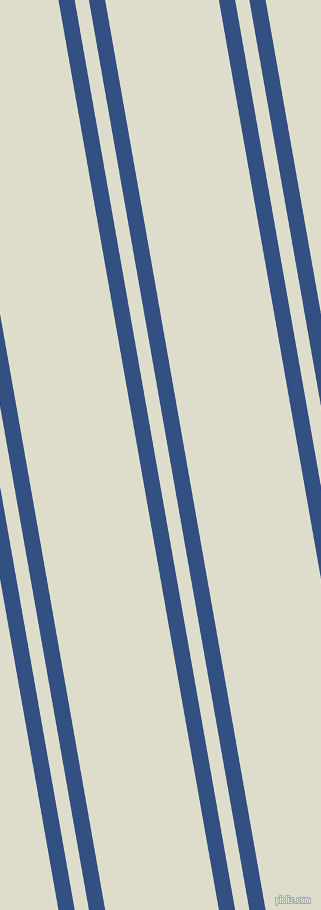 100 degree angles dual striped lines, 16 pixel lines width, 14 and 112 pixels line spacing, Fun Blue and Green White dual two line striped seamless tileable