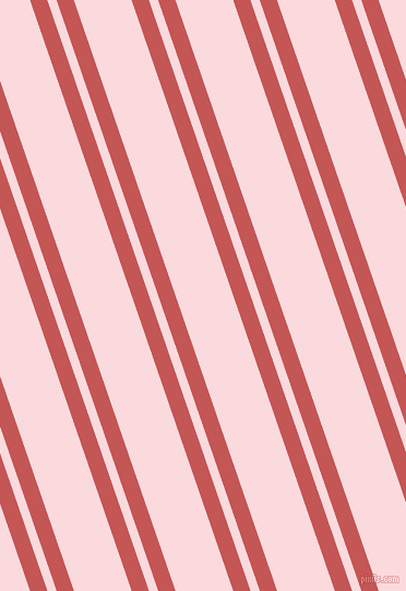 109 degree angle dual striped line, 15 pixel line width, 8 and 50 pixel line spacing, Fuzzy Wuzzy Brown and Pale Pink dual two line striped seamless tileable