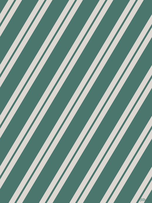 59 degree angles dual stripes lines, 17 pixel lines width, 6 and 49 pixels line spacing, Gallery and Dark Green Copper dual two line striped seamless tileable