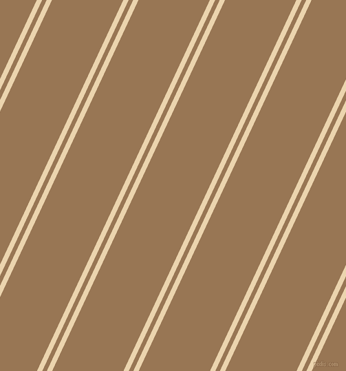 65 degree angles dual striped lines, 7 pixel lines width, 6 and 94 pixels line spacing, Givry and Pale Brown dual two line striped seamless tileable