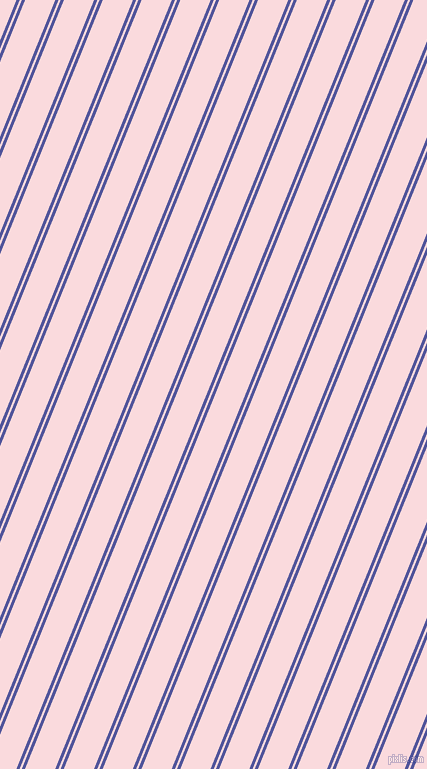 68 degree angle dual striped line, 3 pixel line width, 2 and 28 pixel line spacing, Governor Bay and Pale Pink dual two line striped seamless tileable