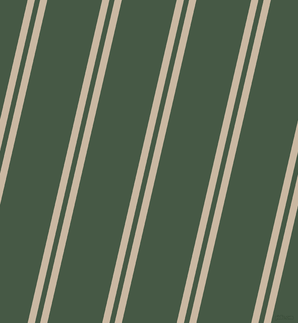77 degree angle dual stripes line, 14 pixel line width, 10 and 106 pixel line spacing, Grain Brown and Grey-Asparagus dual two line striped seamless tileable