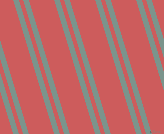 107 degree angle dual stripe lines, 19 pixel lines width, 14 and 84 pixel line spacing, Granny Smith and Indian Red dual two line striped seamless tileable