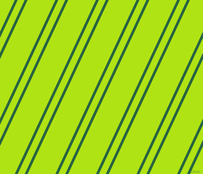 65 degree angles dual stripe lines, 9 pixel lines width, 22 and 87 pixels line spacing, Green Pea and Inch Worm dual two line striped seamless tileable