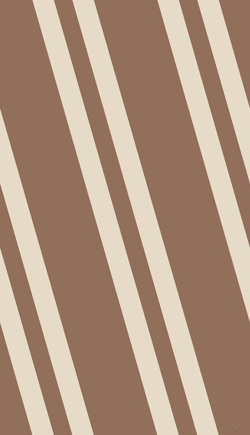 106 degree angle dual stripes lines, 42 pixel lines width, 36 and 124 pixel line spacing, Half Spanish White and Beaver dual two line striped seamless tileable
