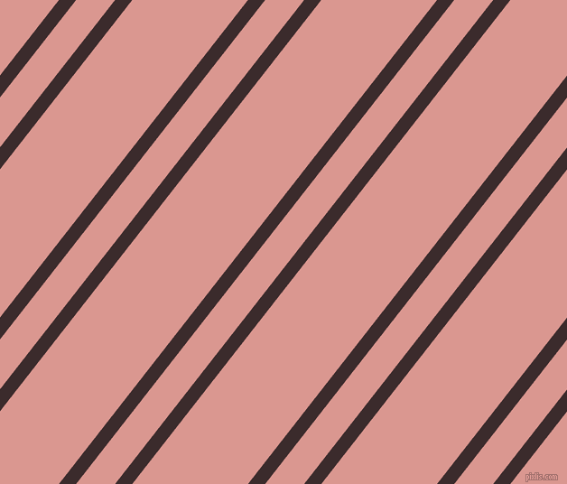 52 degree angles dual striped line, 15 pixel line width, 34 and 101 pixels line spacing, Havana and Petite Orchid dual two line striped seamless tileable