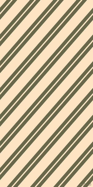 49 degree angle dual striped line, 11 pixel line width, 4 and 31 pixel line spacing, Hemlock and Bisque dual two line striped seamless tileable