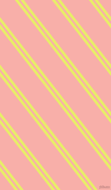 128 degree angles dual stripe line, 9 pixel line width, 6 and 75 pixels line spacing, Honeysuckle and Sundown dual two line striped seamless tileable