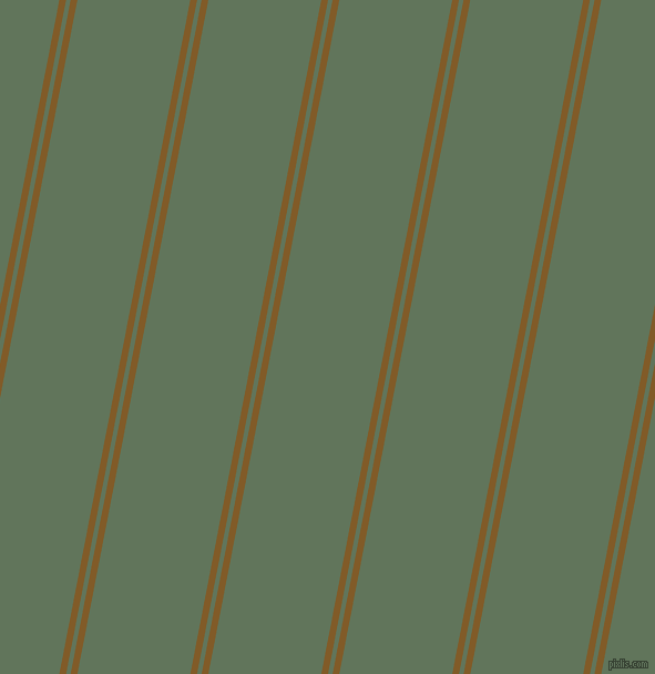 79 degree angle dual stripe lines, 6 pixel lines width, 4 and 100 pixel line spacing, Hot Curry and Finlandia dual two line striped seamless tileable