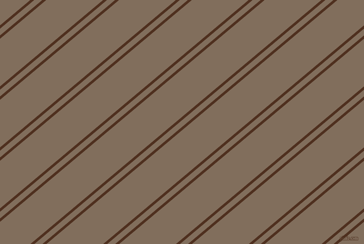 40 degree angles dual striped line, 5 pixel line width, 10 and 71 pixels line spacing, Indian Tan and Donkey Brown dual two line striped seamless tileable