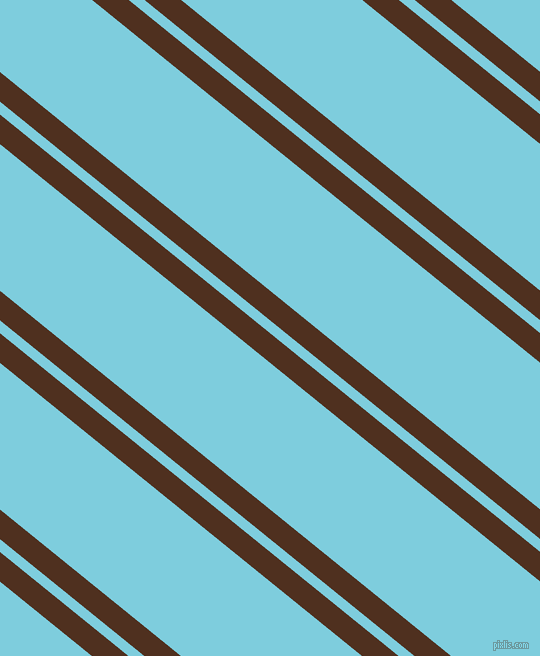 141 degree angles dual striped lines, 23 pixel lines width, 10 and 114 pixels line spacing, Indian Tan and Spray dual two line striped seamless tileable