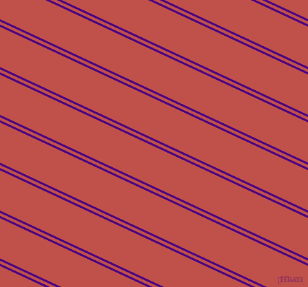 155 degree angles dual striped lines, 3 pixel lines width, 4 and 53 pixels line spacing, Indigo and Sunset dual two line striped seamless tileable