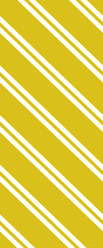 136 degree angles dual stripes line, 15 pixel line width, 10 and 75 pixels line spacing, Ivory and Sunflower dual two line striped seamless tileable