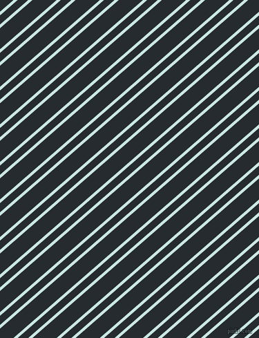 41 degree angle dual striped lines, 4 pixel lines width, 10 and 23 pixel line spacing, Jagged Ice and Blue Charcoal dual two line striped seamless tileable