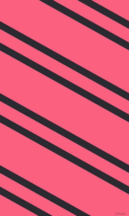151 degree angles dual stripe lines, 23 pixel lines width, 40 and 126 pixels line spacing, Jaguar and Brink Pink dual two line striped seamless tileable