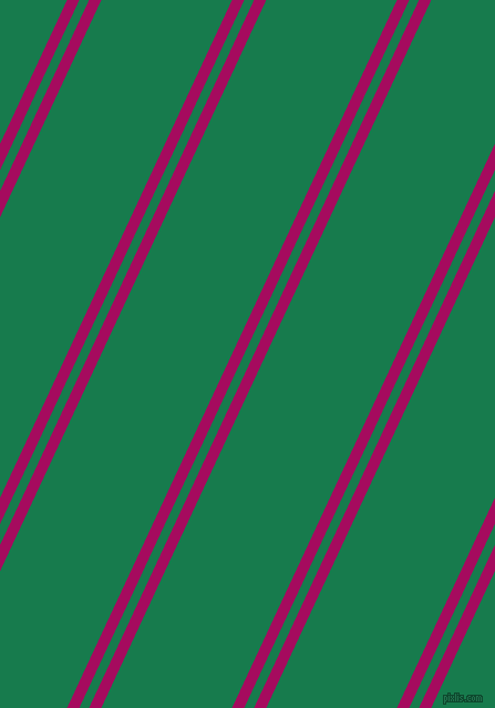 65 degree angle dual striped lines, 10 pixel lines width, 8 and 107 pixel line spacing, Jazzberry Jam and Salem dual two line striped seamless tileable