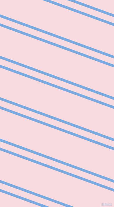 160 degree angles dual striped lines, 9 pixel lines width, 20 and 96 pixels line spacing, Jordy Blue and Carousel Pink dual two line striped seamless tileable