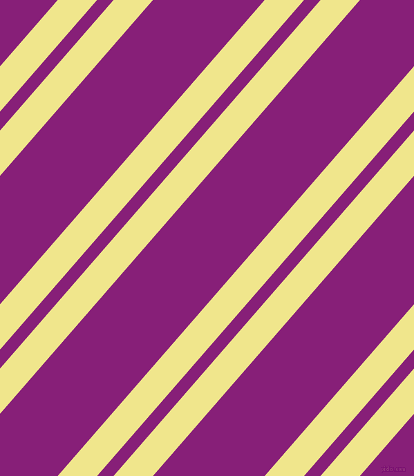 49 degree angle dual striped lines, 43 pixel lines width, 18 and 122 pixel line spacing, Khaki and Dark Purple dual two line striped seamless tileable