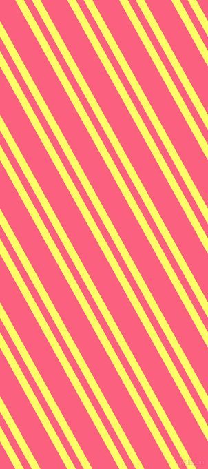 119 degree angles dual striped line, 11 pixel line width, 10 and 34 pixels line spacing, Laser Lemon and Brink Pink dual two line striped seamless tileable