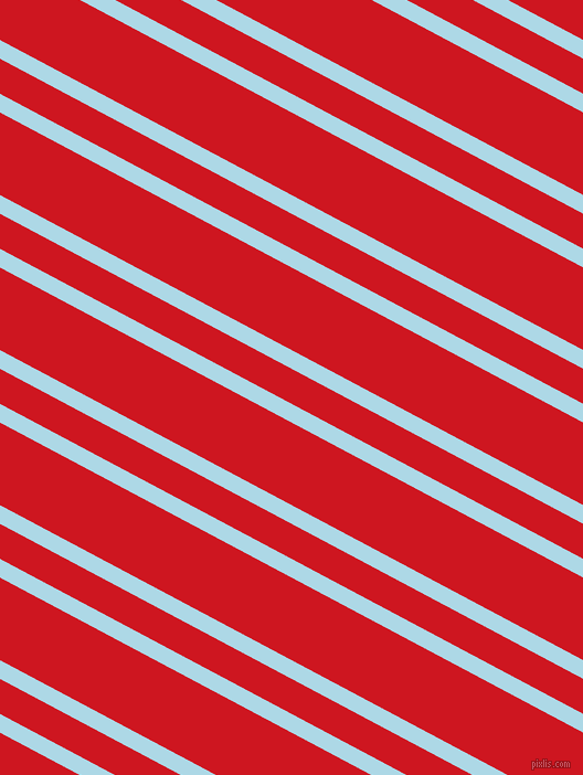 152 degree angle dual striped line, 15 pixel line width, 28 and 66 pixel line spacing, Light Blue and Fire Engine Red dual two line striped seamless tileable