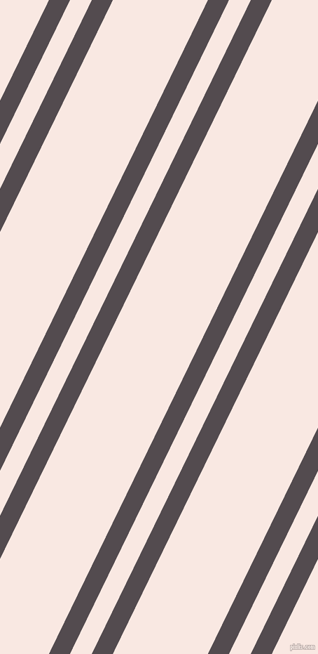 64 degree angles dual stripe lines, 27 pixel lines width, 28 and 122 pixels line spacing, Liver and Wisp Pink dual two line striped seamless tileable