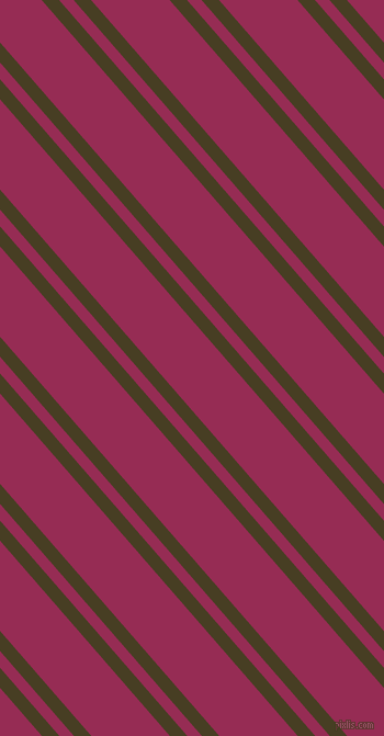 131 degree angle dual striped line, 12 pixel line width, 10 and 54 pixel line spacing, Madras and Lipstick dual two line striped seamless tileable