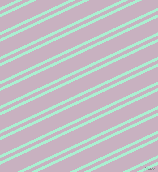 25 degree angle dual stripe line, 9 pixel line width, 10 and 44 pixel line spacing, Magic Mint and Maverick dual two line striped seamless tileable