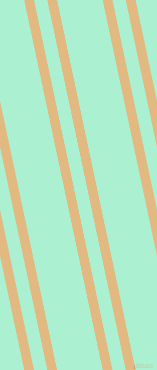 102 degree angle dual striped line, 19 pixel line width, 26 and 89 pixel line spacing, Maize and Magic Mint dual two line striped seamless tileable