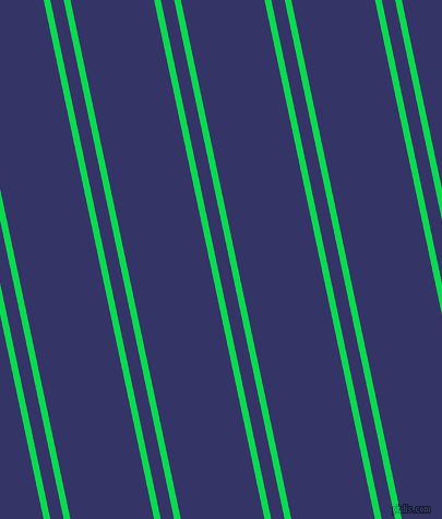 102 degree angles dual stripes lines, 6 pixel lines width, 12 and 75 pixels line spacing, Malachite and Deep Koamaru dual two line striped seamless tileable