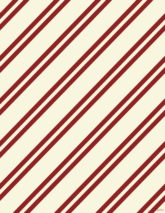 46 degree angle dual striped line, 15 pixel line width, 12 and 60 pixel line spacing, Mandarian Orange and Promenade dual two line striped seamless tileable