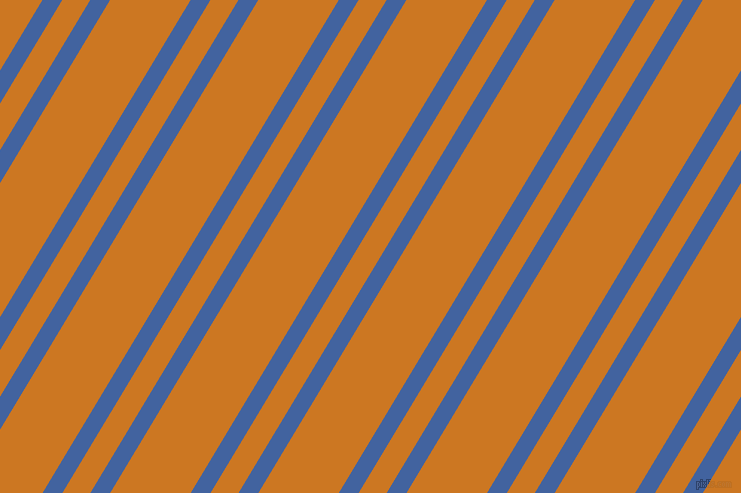 59 degree angles dual striped lines, 17 pixel lines width, 24 and 69 pixels line spacing, Mariner and Ochre dual two line striped seamless tileable