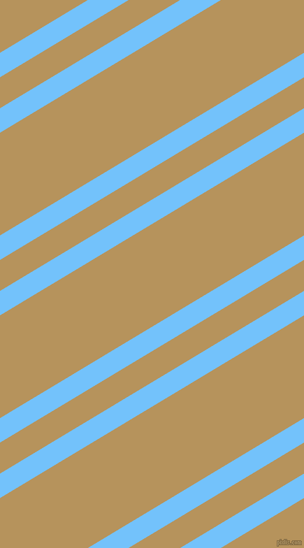 31 degree angles dual stripe lines, 30 pixel lines width, 38 and 126 pixels line spacing, Maya Blue and Barley Corn dual two line striped seamless tileable