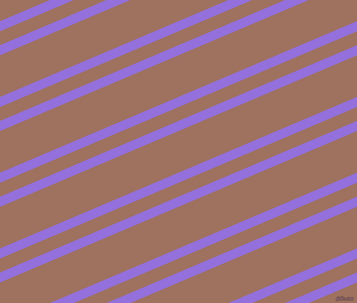 23 degree angle dual stripe lines, 19 pixel lines width, 26 and 78 pixel line spacing, Medium Purple and Toast dual two line striped seamless tileable