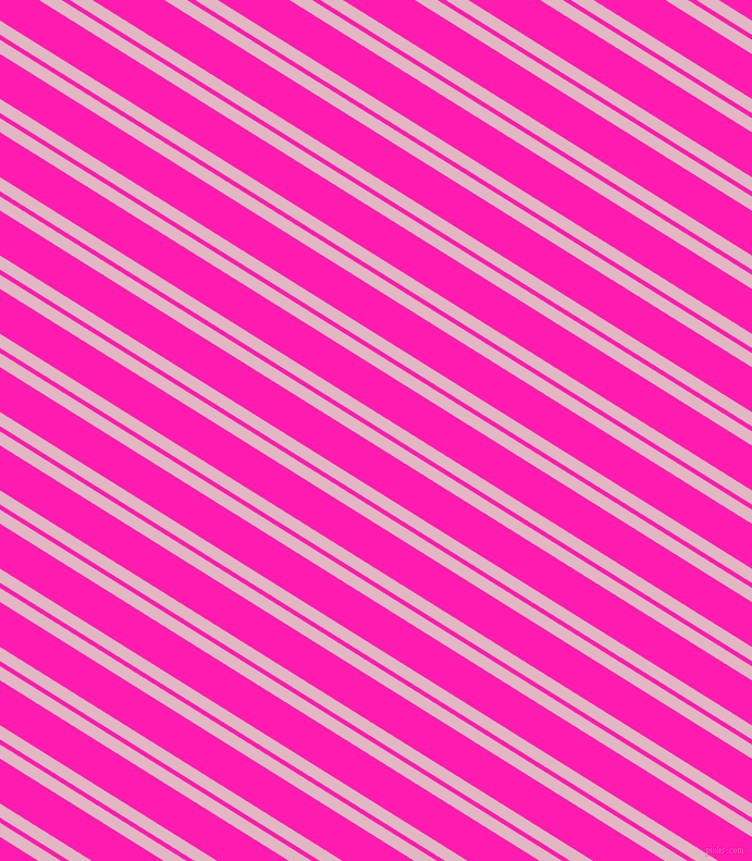 148 degree angles dual striped lines, 11 pixel lines width, 4 and 35 pixels line spacing, Melanie and Spicy Pink dual two line striped seamless tileable