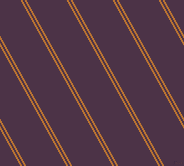 119 degree angles dual stripe line, 6 pixel line width, 6 and 120 pixels line spacing, Meteor and Loulou dual two line striped seamless tileable