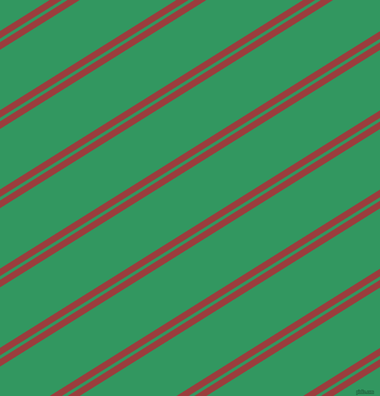 32 degree angles dual stripes lines, 13 pixel lines width, 6 and 103 pixels line spacing, Mexican Red and Eucalyptus dual two line striped seamless tileable
