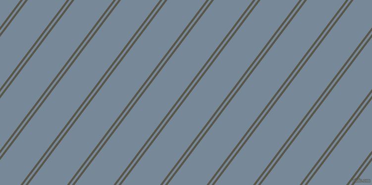 53 degree angle dual striped line, 4 pixel line width, 4 and 63 pixel line spacing, Millbrook and Light Slate Grey dual two line striped seamless tileable