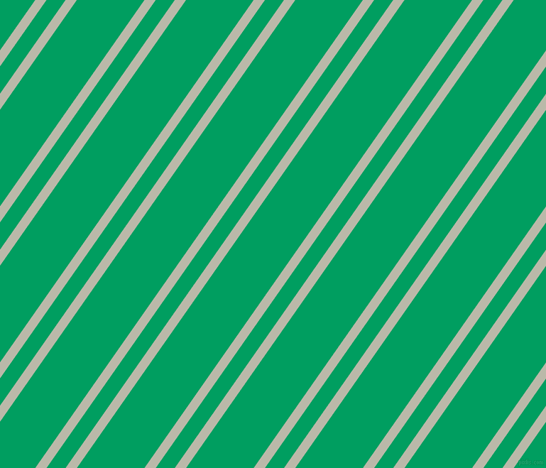 55 degree angles dual striped lines, 13 pixel lines width, 22 and 78 pixels line spacing, Mist Grey and Shamrock Green dual two line striped seamless tileable