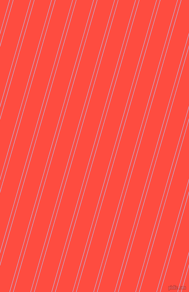 74 degree angles dual stripes line, 1 pixel line width, 6 and 33 pixels line spacing, Moon Raker and Sunset Orange dual two line striped seamless tileable