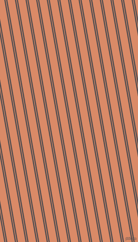 100 degree angle dual stripe line, 4 pixel line width, 2 and 24 pixel line spacing, Mortar and Copper dual two line striped seamless tileable