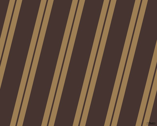 76 degree angles dual striped line, 22 pixel line width, 6 and 75 pixels line spacingMuesli and Rebel dual two line striped seamless tileable