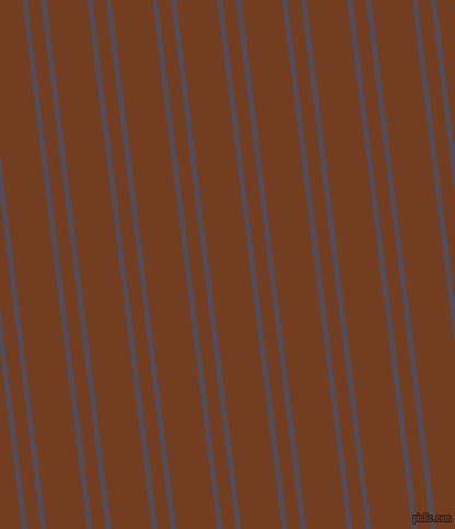 97 degree angles dual stripe lines, 5 pixel lines width, 12 and 37 pixels line spacing, Mulled Wine and Peru Tan dual two line striped seamless tileable