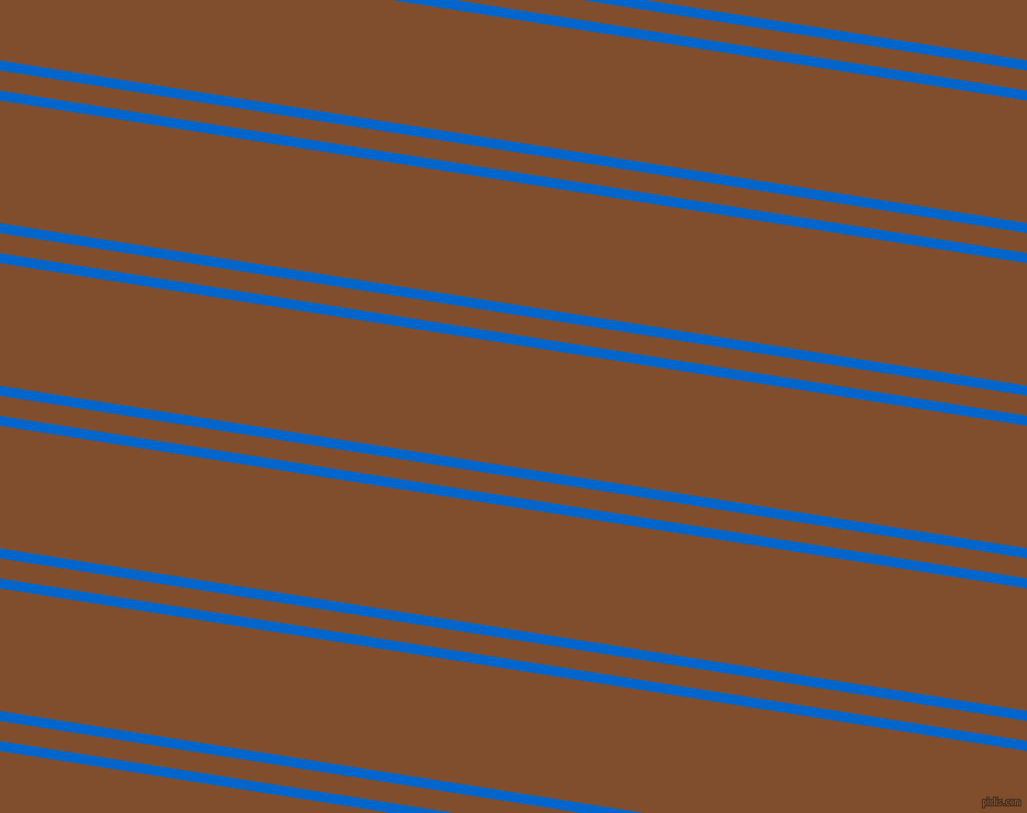 171 degree angle dual stripes line, 9 pixel line width, 18 and 110 pixel line spacing, Navy Blue and Korma dual two line striped seamless tileable